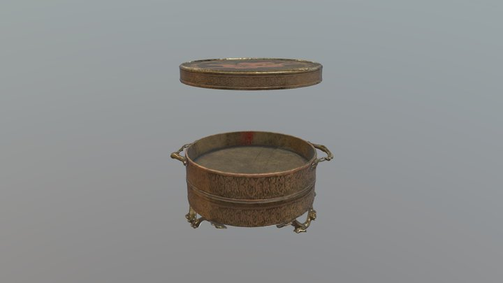 Asian metalware 3D Model