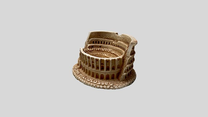 Miniature of the Roman Coliseum 3D Model