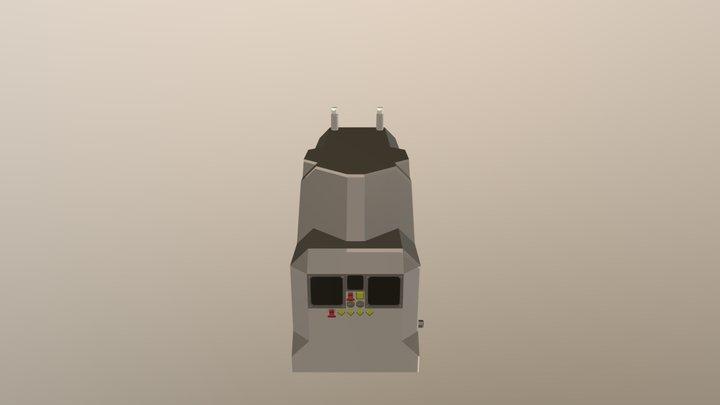ACI Large Advanced Diesel Generator 3D Model
