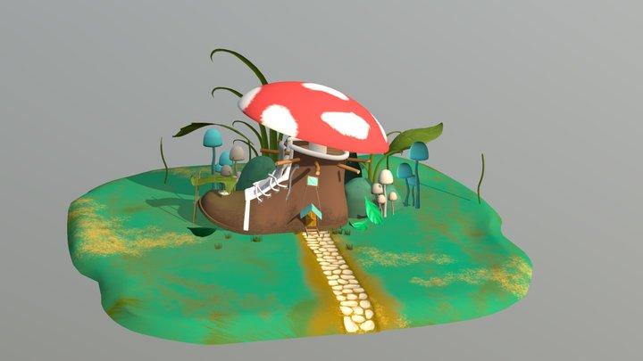 Boot House 3D model 3D Model
