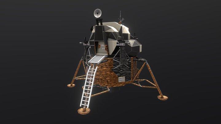Apollo 11 Lunar module 3D Model