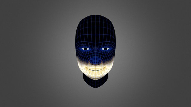 Smile Blendshape 3D Model