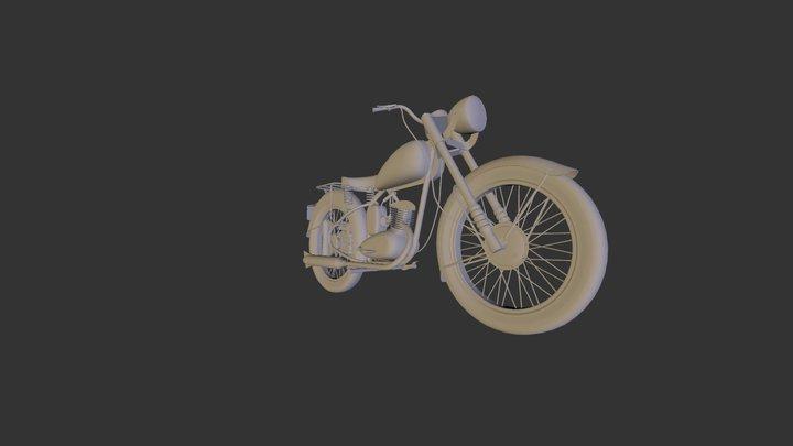 Bsa Bantam 3D Model