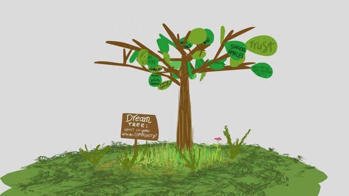 Dream Tree 3D Model