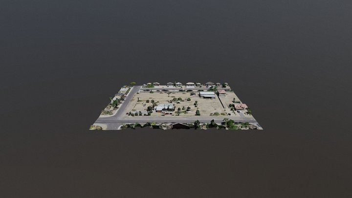 PINNACLE PEAK RD - PEORIA - DRONE TO 3D 3D Model
