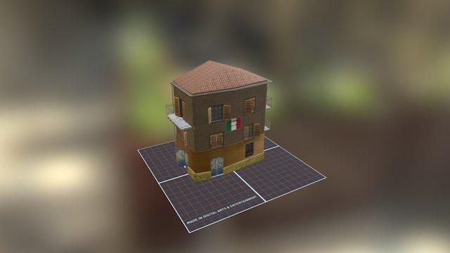 House_Restaurant001 3D Model