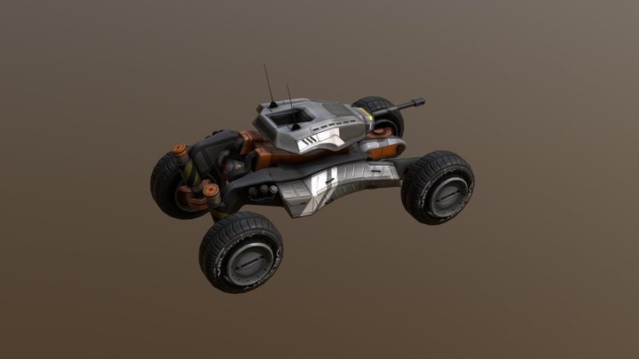 LSV - Drone Buggy 3D Model