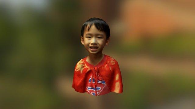 Caden Siu Superman bust 3D Model