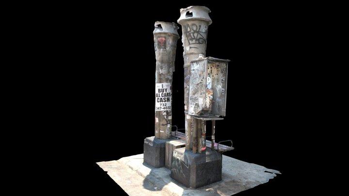 Free Download-Graffiti Towers 3DF Zephyr 3D Model