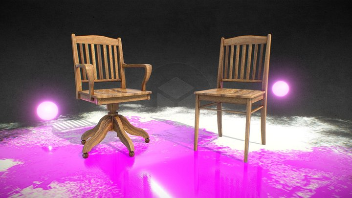 Finnish chairs 3D Model