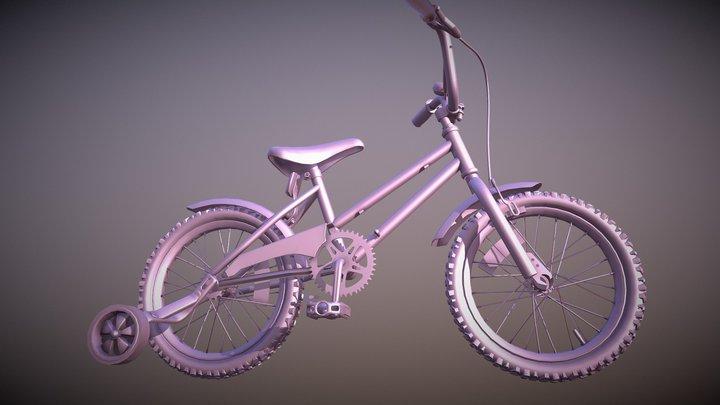 MiniBike 3D Model