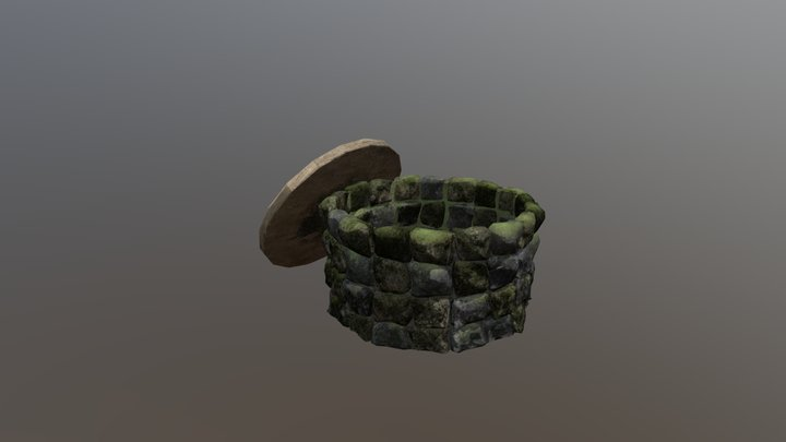 Old water well 3D Model