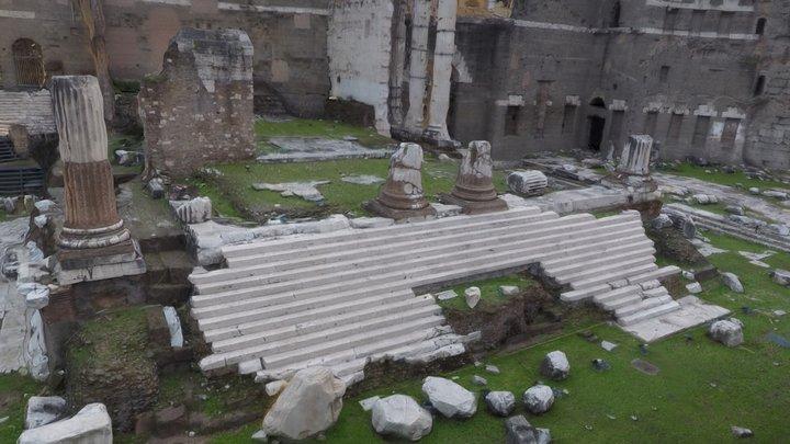 Forum of Augustus (Rome, Italy) 3D Model