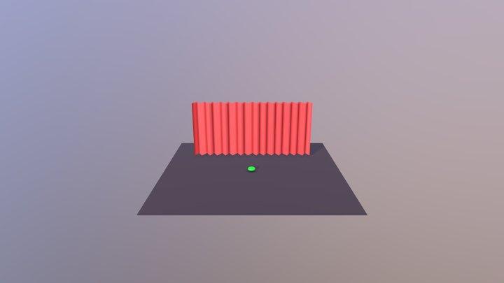 Ball Anim Alembic 3D Model