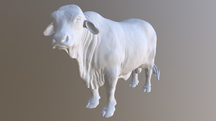 Bull Ornament Edit - UPDATED 7TH NOVEMBER 2017 3D Model