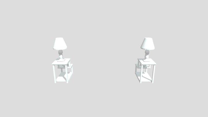 Living Room Lamps 3D Model