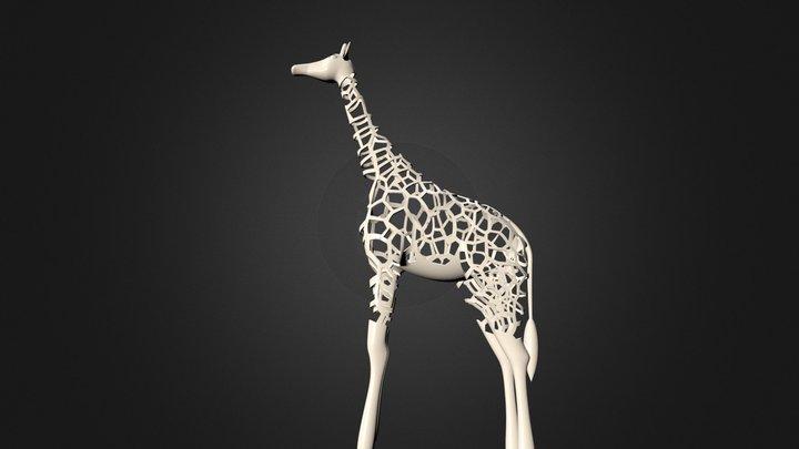 Big Giraffe  3D Model