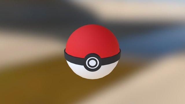 Pokémon Poké Ball 3D Model