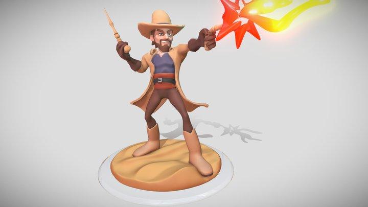 Durango - Disney Infinity Inspired Character 3D Model