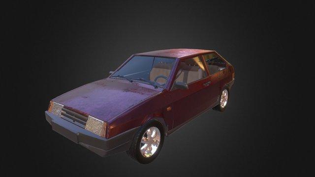 VAZ_2108 3D Model