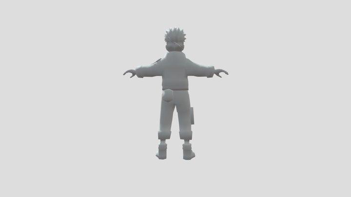 naruto uzumaki 3D model 3D Model