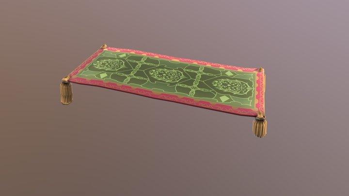 Carpet of Flying 3D Model