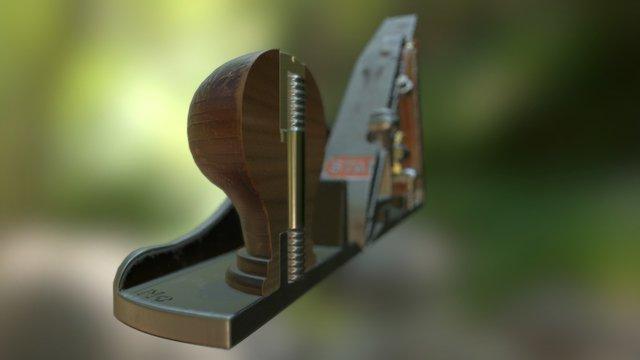 Handplane Baker - Contest! - Stanley No. 4 1/2 3D Model