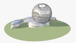 EXPO 2017 3D Model