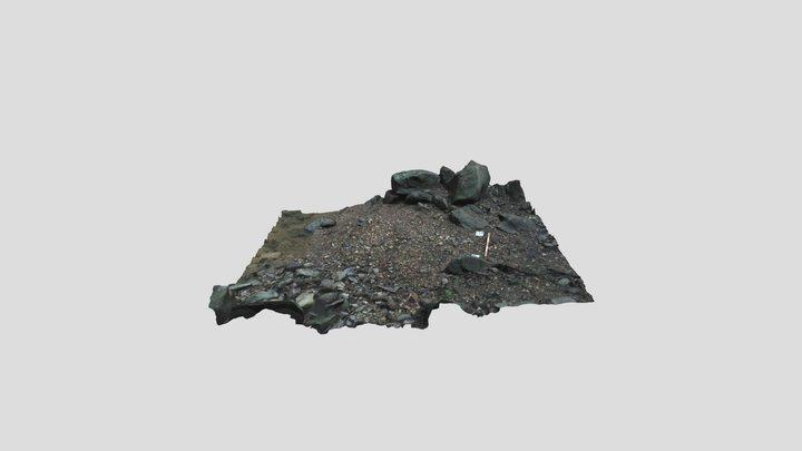 Creek Gravel 3D Model