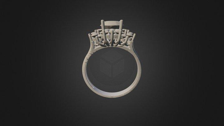 Кольцо2 на пробу 3D Model