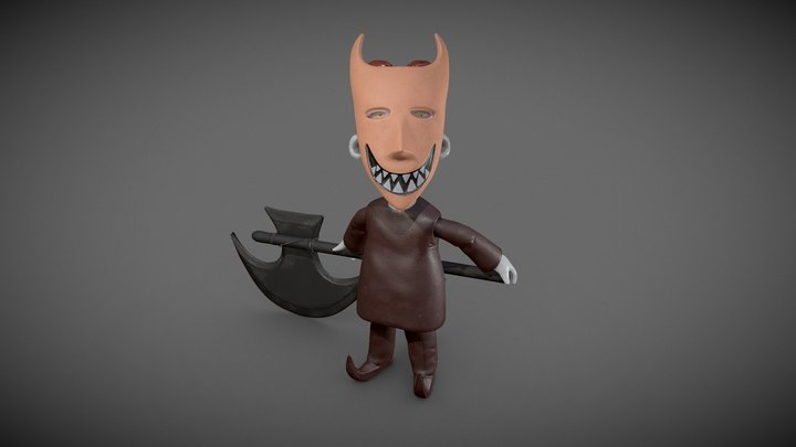 Lock from nightmare before christmas 3D Model