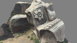 Temple of Vespasianus 3D Model
