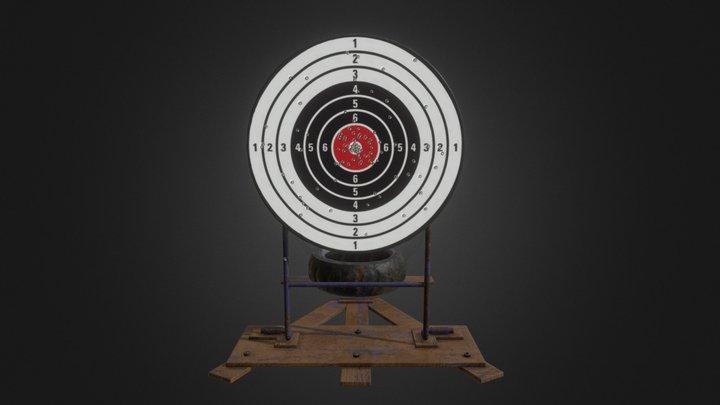Reactive Target 3D Model