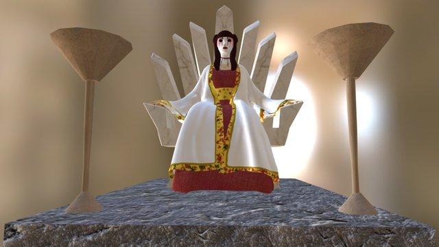 Queen 3D Model