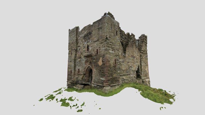 Hopton Castle - Shropshire 3D Model