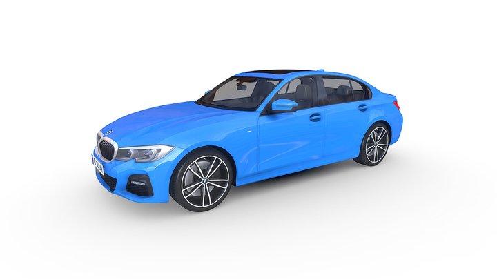 BMW 3-series M- Package 2019 3D Model