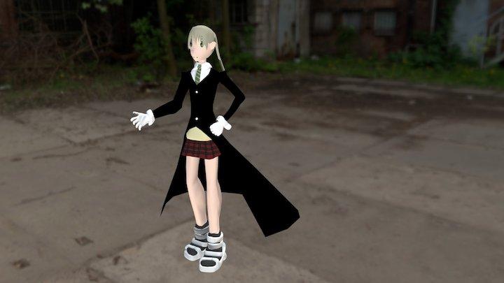 Maka Albarn [Soul Eater] 3D Model