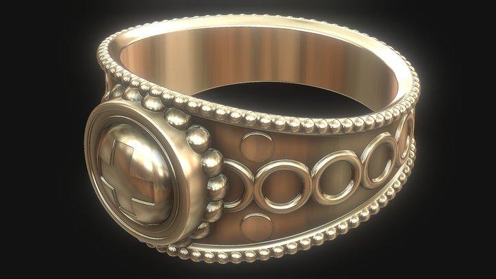 Antique ring 3D Model