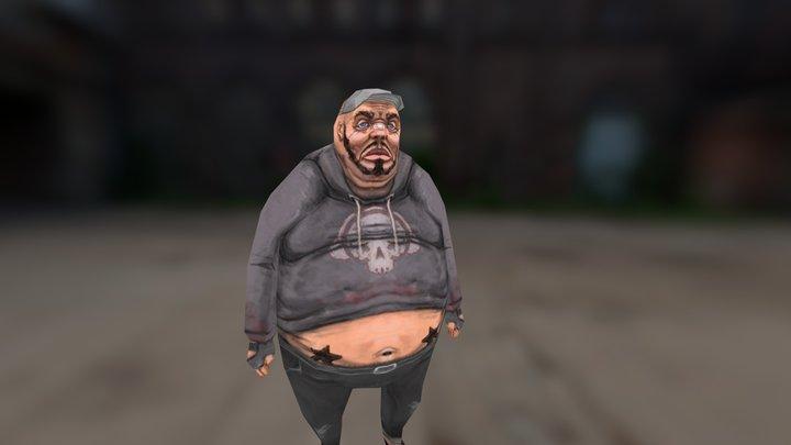 Fat Joe 3D Model