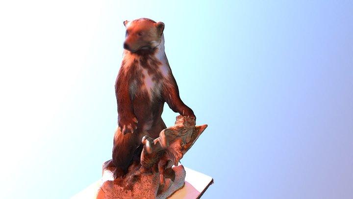 Model-wolverine 3D Model