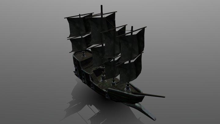 Ship Comp 3D Model