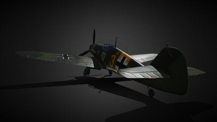 Bf-109 G-2 3D Model