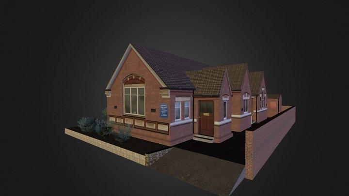 Coleshill Church 3D Model