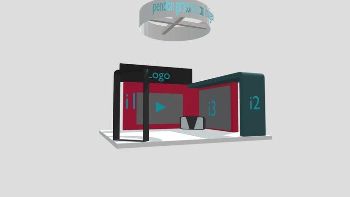 Stand Business EXPO COMERCIO VIRTUAL 2020 3D Model