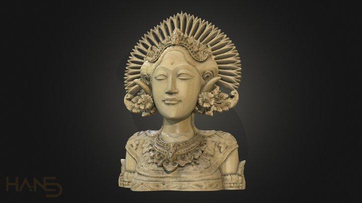 Bali Statue 3D Model
