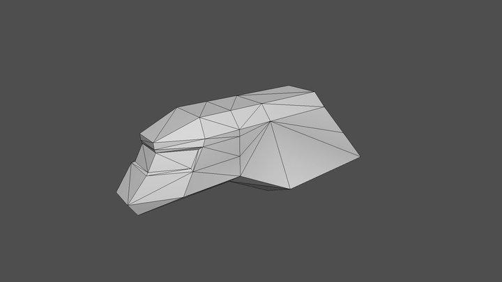 New TS Ship. 3D Model