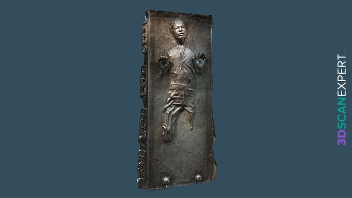 Han Solo in Carbonite 3D Scan 3D Model