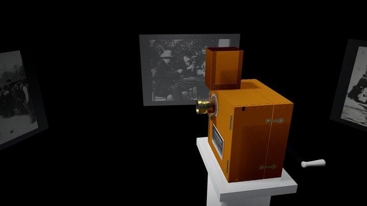 LUMIERE BROS CAMERA 3D Model