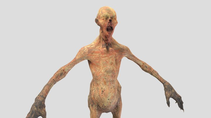 Fallout: Feral Ghoul 3D Model