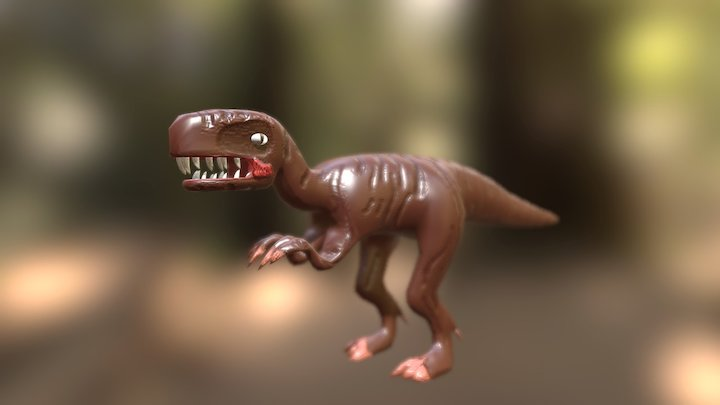 Theropod 3D Model